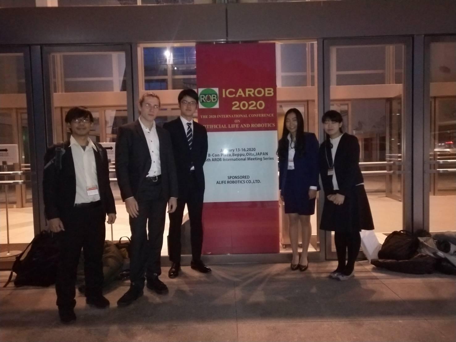 (日本語) 大分県で行われた国際学会ICAROBへ参加しました。