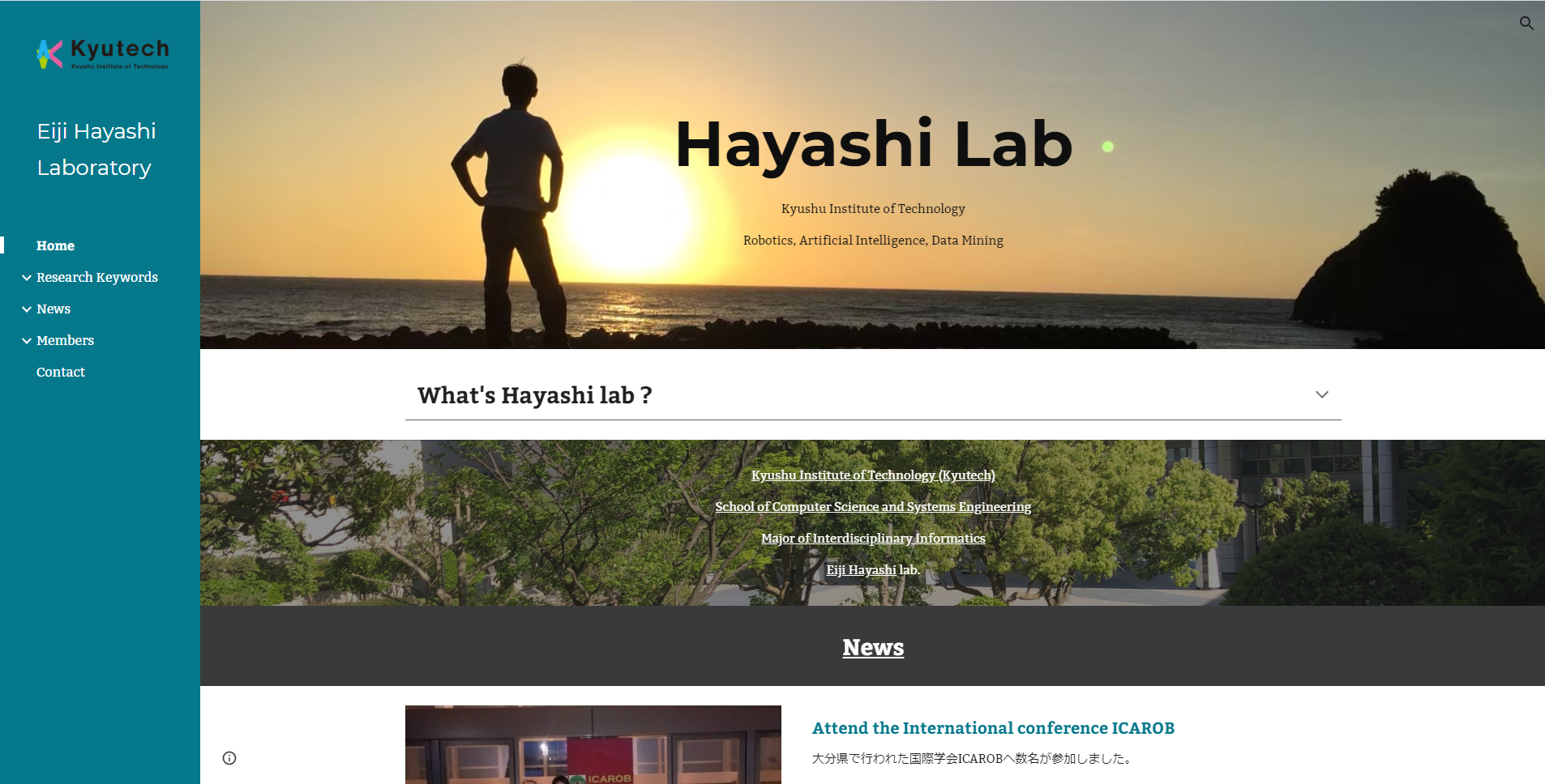 New website for English version!
